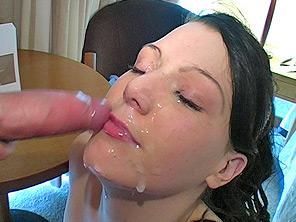 Cum eating swingers
